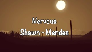 Nervous - Shawn Mendes new song