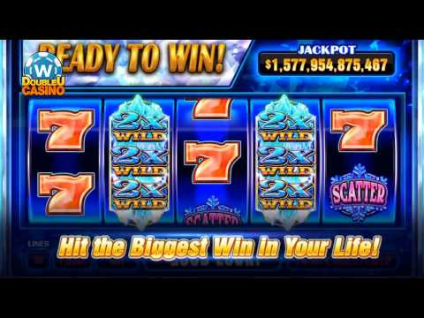New Game on DoubleU Casino - Ice Crystal Wilds Slot
