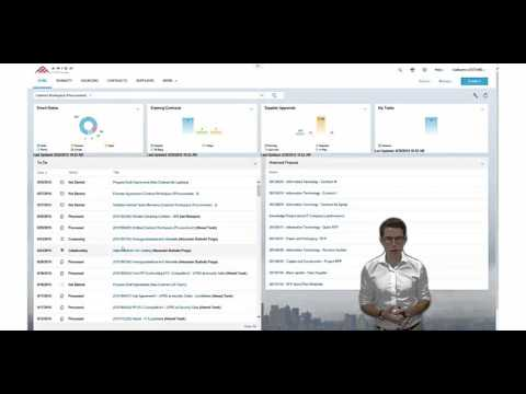 Ariba Contract Management DEMO with New UI