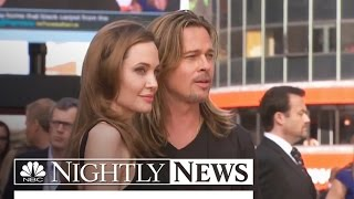 Brad Pitt, Angelina Jolie Open Up About Marriage and Cancer Scares | NBC Nightly News