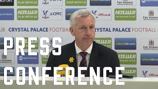 Alan Pardew post QPR Press Conference