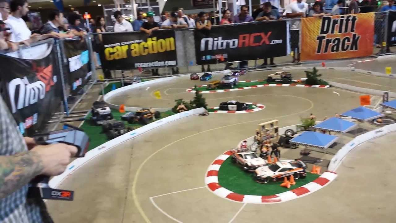 Rcx Rc Drift Track Tandem Action Youtube