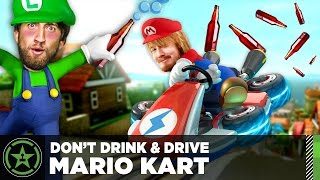 Let's Play – Drunk Mario Kart with ScrewAttack