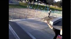 First Beaumont Skatepark Flips on Scooter