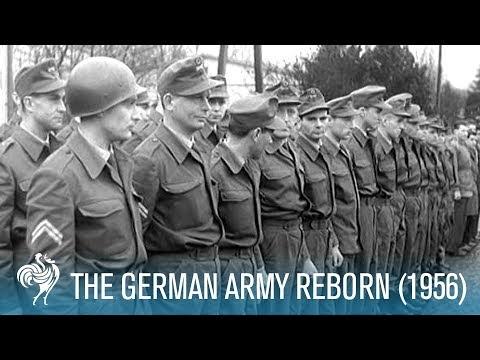 The New Wehrmacht Aka German Army Reborn (1956) | British Pathé
