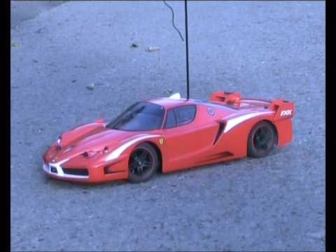 Carisma M14 Ferrari Fxx First Test With Uprated Motor Battery Rc