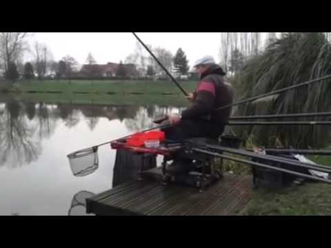 Alan Scotthorne and Bob Nudd battle it out on the banks!