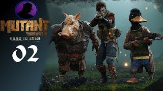 Let's Play Mutant Year Zero Road To Eden - Part 2 - Mistakes Were Made!