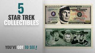 Top 10 Star Trek Collectibles [2018]: American Art Classics Spock Leonard Nimoy Star Trek