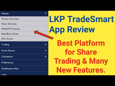 LKP TradeSmart App Review - Best Platform for Share Trading & Many New Features | Stock Trading