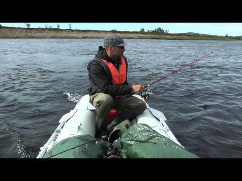 a fishing trip in Swedish Lapland
