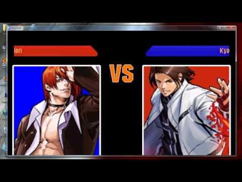 KOF MUGEN EDITTION - Group Boss - Match 15 - Iori Vs Kyo