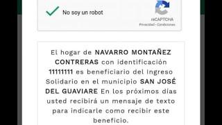 Denuncian irregularidades en aplicativo de 'Ingreso solidario' para familias vulnerables