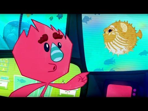 Премьера! Катя и Эф.Куда-угодно-дверь - Рыбный день - Серия 2 - мультики для детей