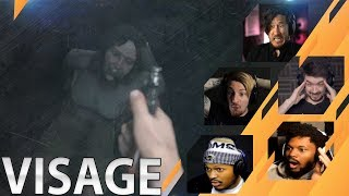 Gamers Reactions to the Intro Scene | Visage