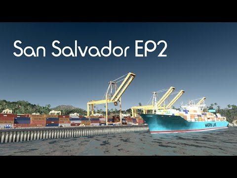 Cities: Skylines - San Salvador - Harbor