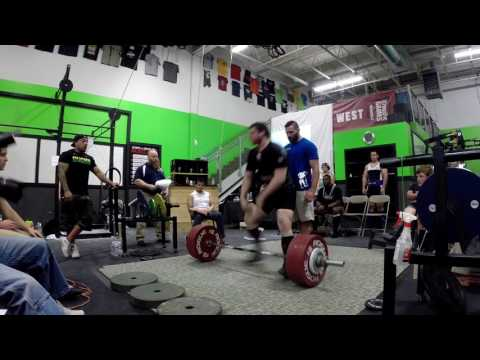 Seattle Summer Classic USAPL Ben Rice all lifts and recap