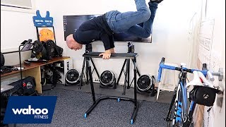 Wahoo KICKR Fitness Desk: Bike Room Upgrade