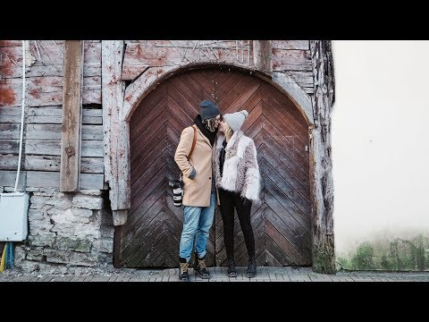 Exploring in ESTONIA - Cinematic Vlog - Lisa and Button