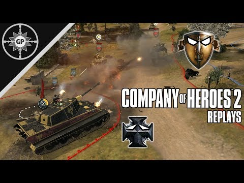 American Armored Assault - Company Of Heroes 2 Replays #14