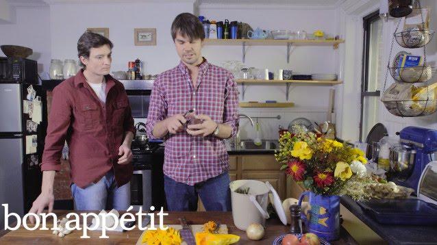 Luke and Ben from Luke's Lobster Serve Up a Root Vegetable Gratin | Basket to Table | Bon Appetit