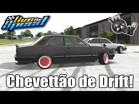 Live For Speed - Novo Chevettão de drift!! (G27 mod)