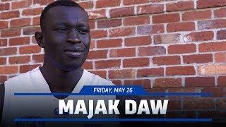 May 26, 2017 - Majak Daw interview