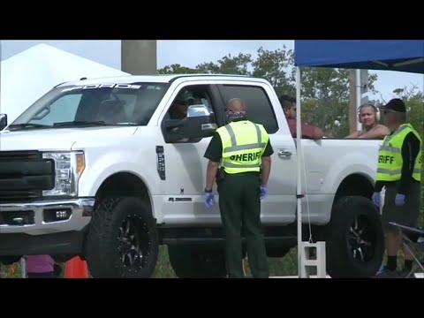 AFP: Coronavirus: la police restreint l'accès aux Keys, îles prisées du sud de la Floride | AFP Images