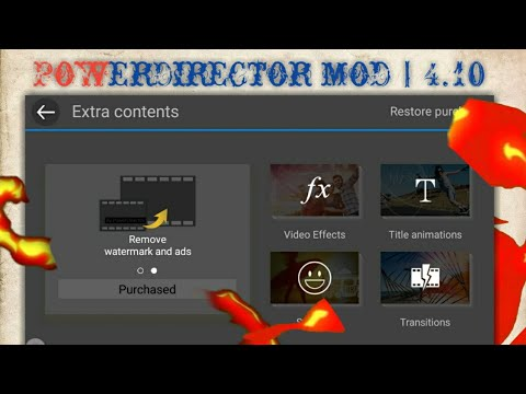 Powerdirector Mod with chroma key latest apk | 4 10