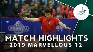 Fan Zhendong vs Zhao Zihao | 2019 Marvellous 12 Highlights
