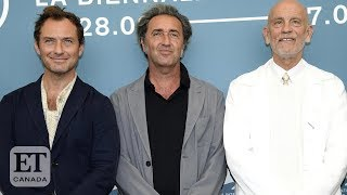 Jude Law And John Malkovich Talk 'The New Pope'
