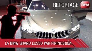 360° BMW Grand Lusso par Pininfarina - Genève 2014