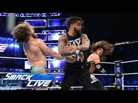 AJ Styles & Daniel Bryan vs. The Usos: SmackDown LIVE, Oct. 23, 2018