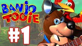 BANJO-TOOIE #1 - GAMEPLAY DO INÍCIO