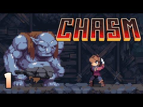 Chasm Gameplay - Part 1 - Pixelart Metroidvania (Let's Play Chasm)