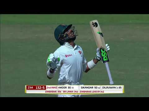 Day 3 Highlights: Sri Lanka vs Zimbabwe Only Test at RPICS