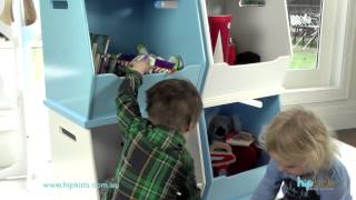 Stackable Toy Storage Boxes By Hip Kids
