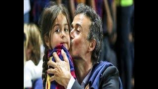 صور لم تشاهدوها من قبل-وفاة ابنة لويس انريكي بالسرطان عن عمر 9 سنوات...كلمات مؤثرة من نادي برشلونة