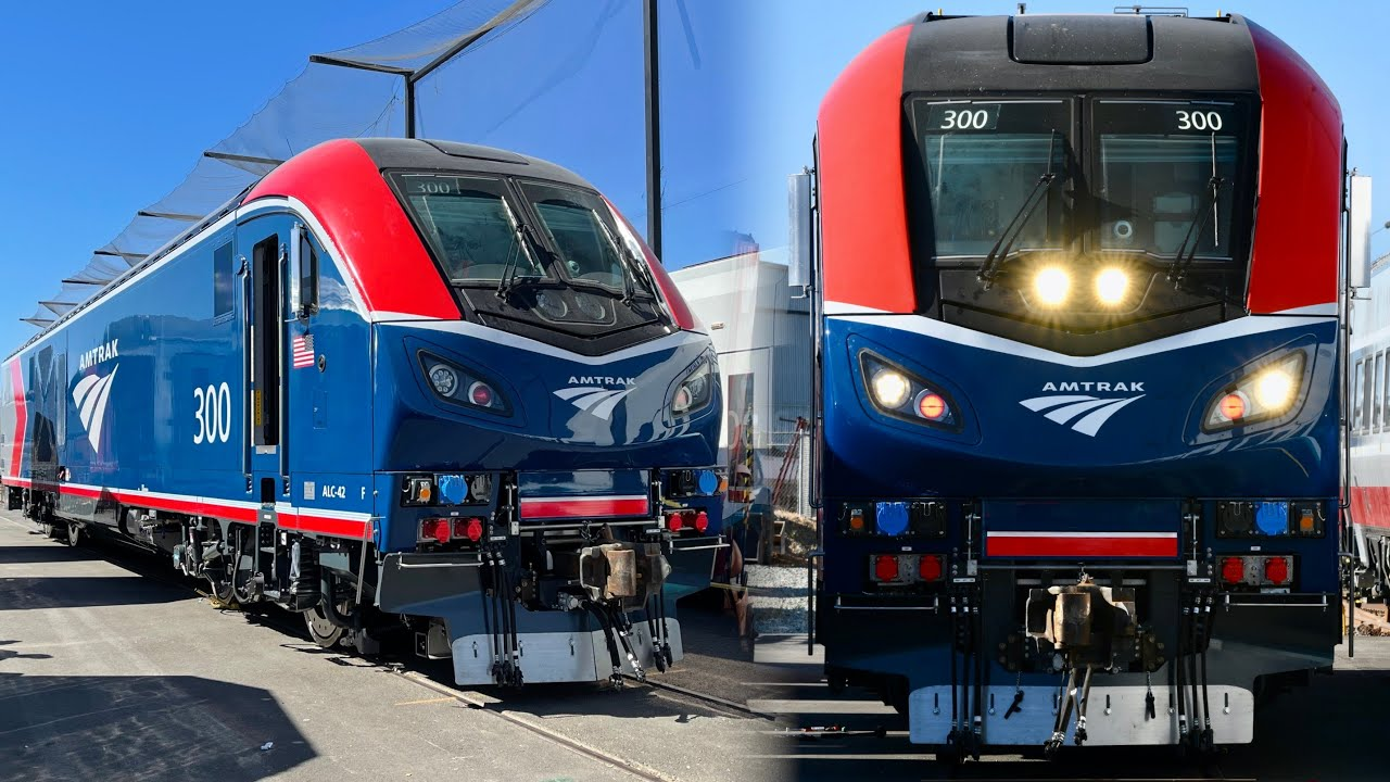 Amtrak ALC-42 New Locomotive - A First Look