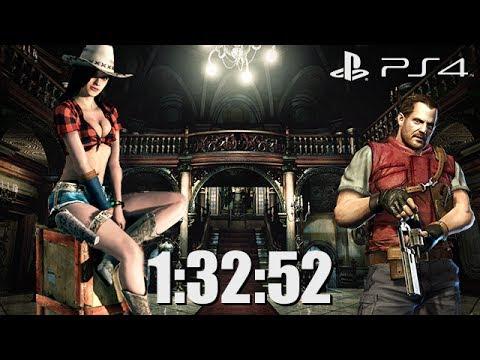 Resident Evil Revelations 2 Speed Run 1:32:52 PS4 60fps