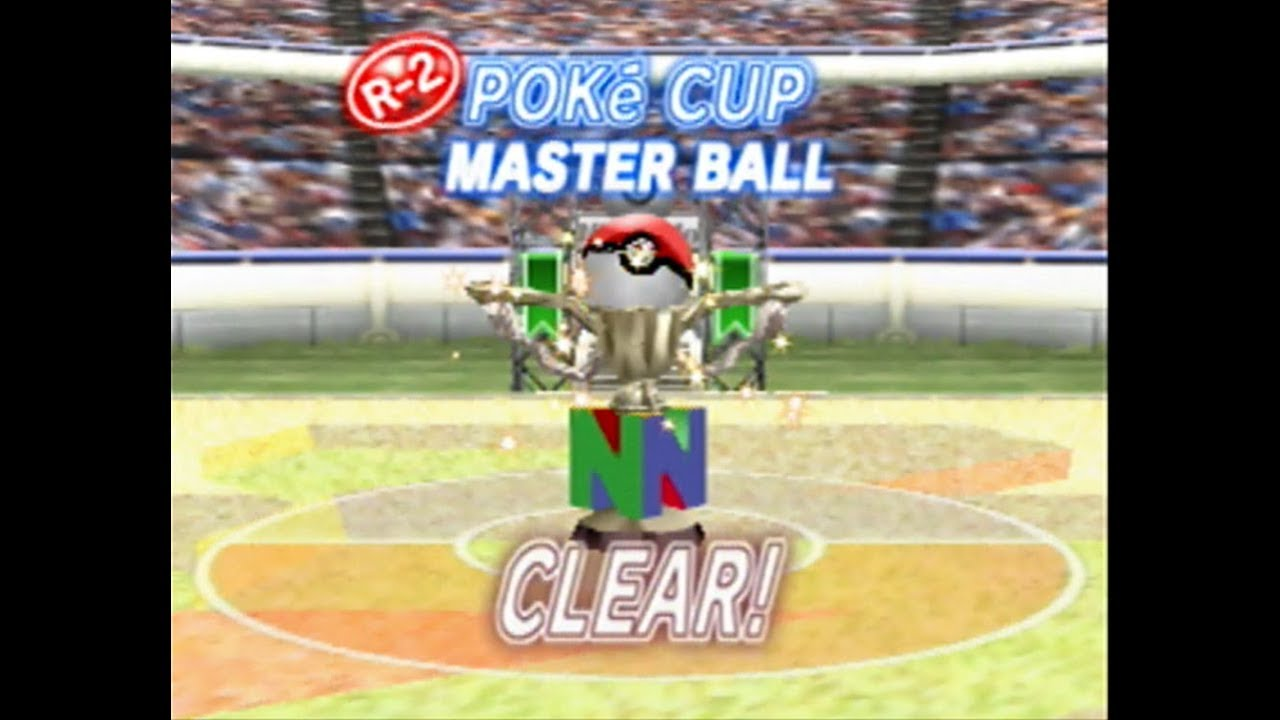 Pokemon Stadium 2 Poke Cup Master Ball round 2 walkthrough rental Pokemon  only
