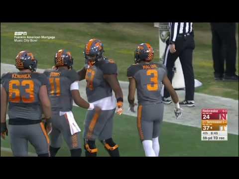 Tennessee vs Nebraska Music City Bowl Highlights