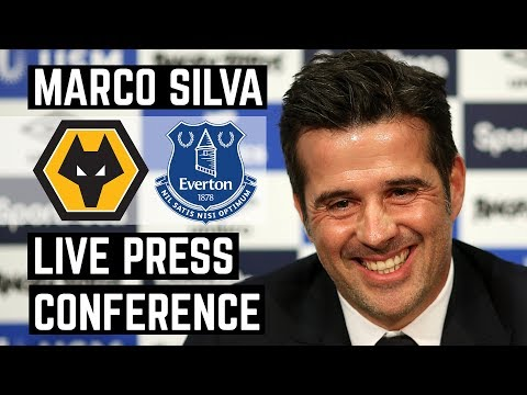 LIVE WOLVES V EVERTON PRESS CONFERENCE | MARCO SILVA