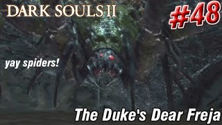 Dark Souls 2 - Giant Spider Because Why Not? (Part 48)