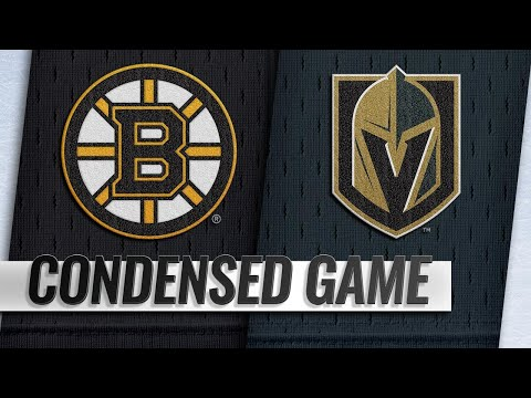 02/20/19 Condensed Game: Bruins @ Golden Knights