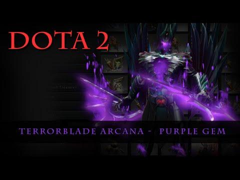 Dota 2 Terrorblade Arcana Purple YouTube