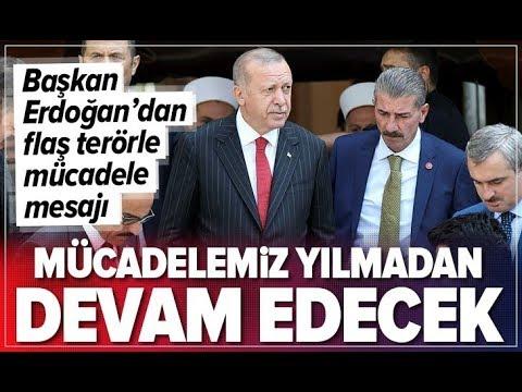 Son Dakika: Başkan Erdoğan'dan Diyarbakır'daki Hain Saldırıyla İlgili Açıklama! / A Haber