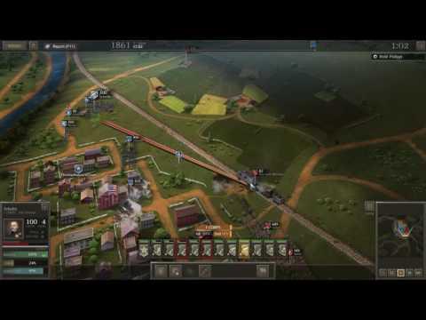 Ultimate General: Civil War - Campaign Gameplay