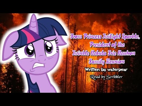 Pony Tales [MLP Fanfic Readings] From Twilight Sparkle, President of the  Family Reunion (comedy)
