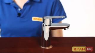 Видео обзор смесителя GROHE BAU EDGE 23168000